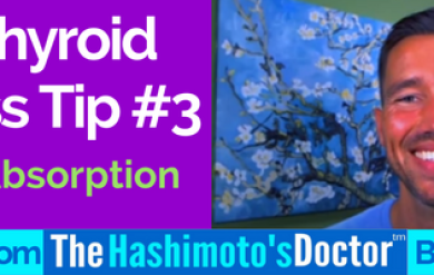 Hypothyroid Hair Loss Tip #3 of 7 Nutrient Absorption