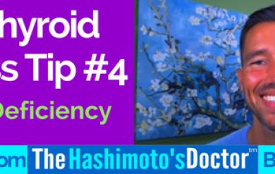 Hypothyroid Hair Loss Tip #5 of 7 Nutrient Deficiency