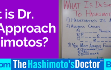 What is Dr. Shook's Approach to Hashimotos