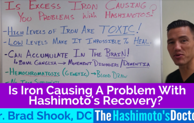 Is Iron Causing A Problem With Hashimoto's Recovery
