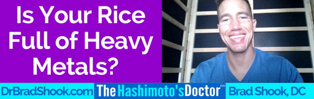 Is Your Rice Full of Heavy Metals?