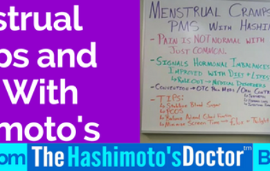 Menstrual Cramps and PMS With Hashimoto's